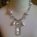 Antique Crystal and Glass pearls