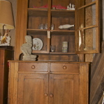 Ant pine cabinet